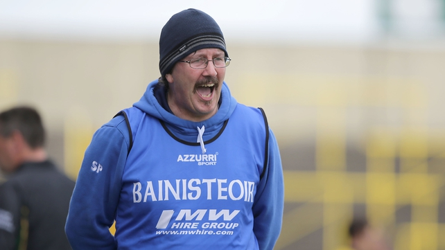 Laois manager Seamus Plunkett's side held off the Antrim challenge
