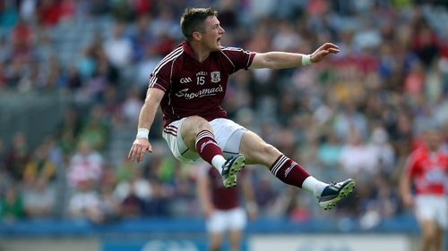 Danny Cummins grabbed the crucial goal for Galway