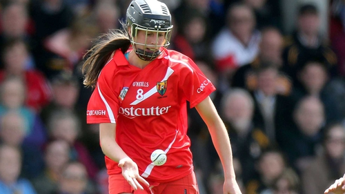 Orla Cotter scored two goals for Cork