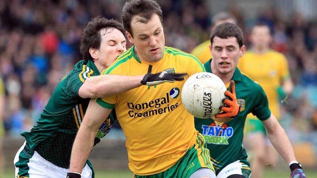 Michael Murphy kept his cool to secure a point for Donegal