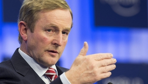 Enda Kenny said the Government would continue the work of helping the Irish economy to recover