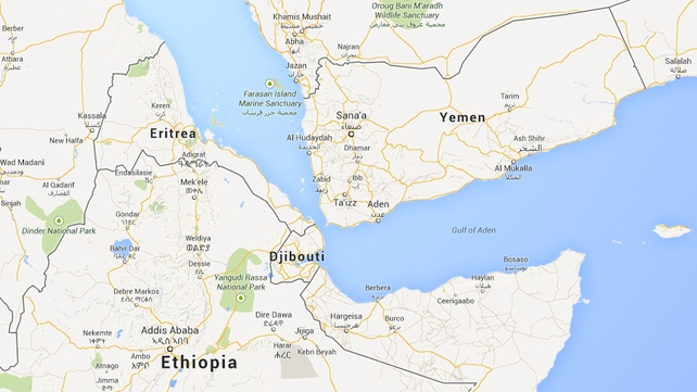 African migrants often use unseaworthy boats to try to reach Yemen (Pic: Google Maps)