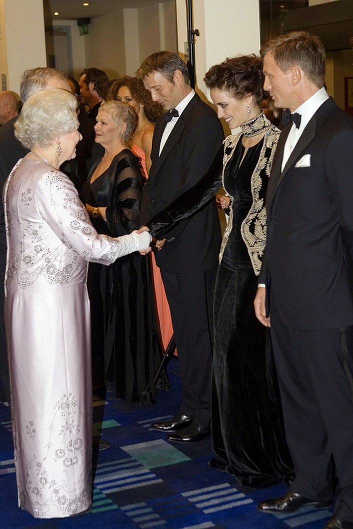 Meeting the Queen