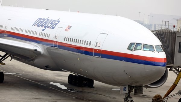 Another Malaysia Airlines 777 seen in Kuala Lumpur (Pic: EPA)