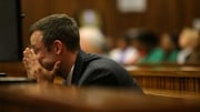 Oscar Pistorius, who denies murdering Reeva Steenkamp, became upset during evidence from the pathologist