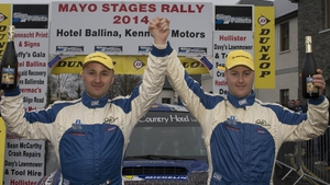 Declan Boyle and Brian Boyle claimed victory in the Mayo Rally