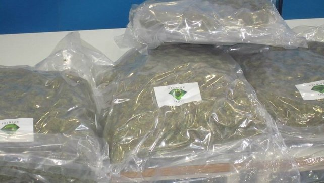 Three people arrested over cannabis seizures