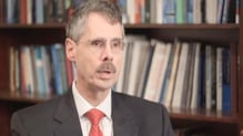 Author Howard Federoff discusses the research (Credit: Georgetown University Medical Center)