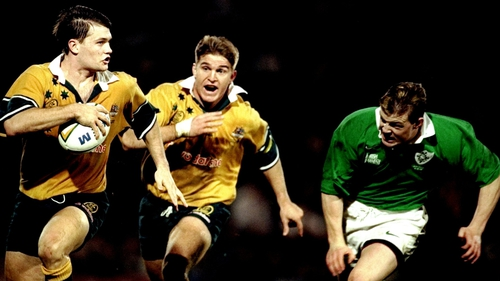 Brian O'Driscoll made his Ireland debut in June 1999 against Australia in Brisbane