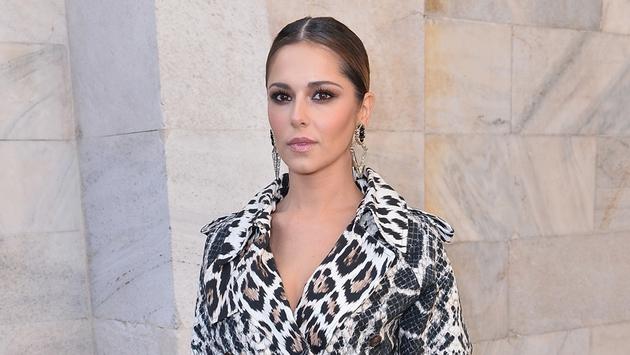Cheryl Cole at Milan Fashion Week last month
