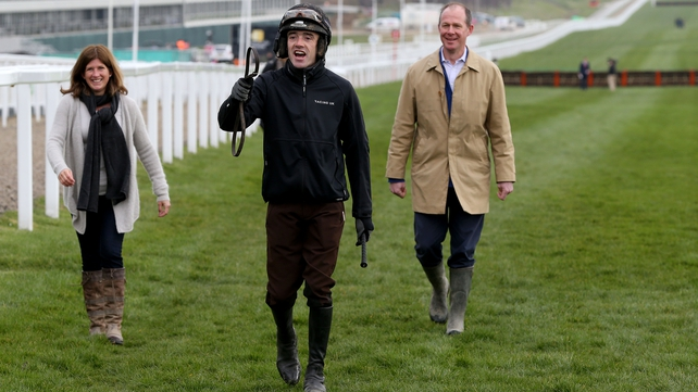 After his weighing-room colleague Jason Maguire suffered a bad fall fall, Ruby Walsh said there was more to life than Cheltenham