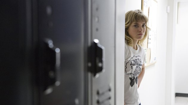 Imogen Poots is the fun and snarky love interest