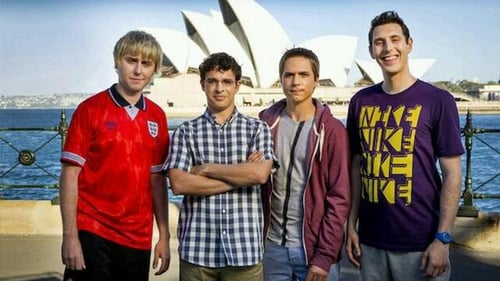 The boys at Sydney Harbour. Picture courtesy of Film4