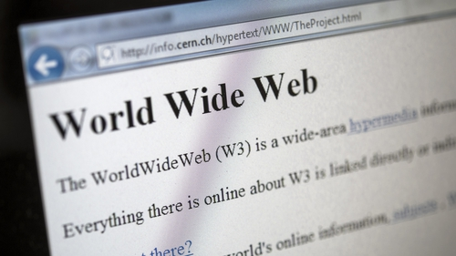 The World Wide Web traces its history back 25 years