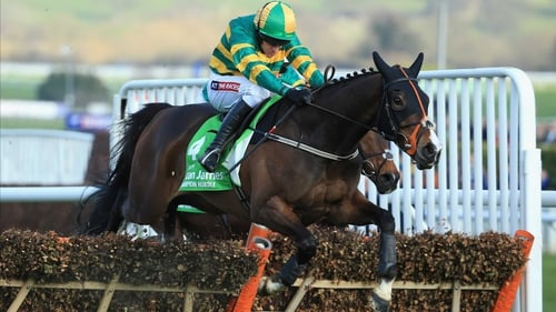 Jezki stormed to victory in a thrilling Champion Hurdle