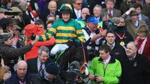 Barry Geraghty aboard Jezki in 2014
