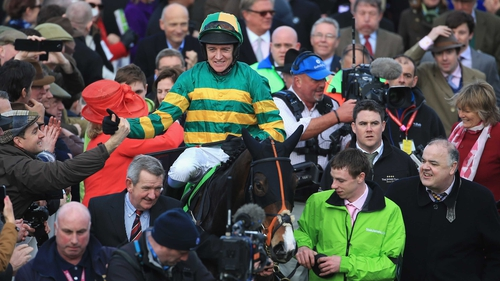 Jezki has never been beaten when Barry Geraghty has been on board