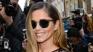 Cheryl Cole arriving for today's X Factor Press Conference