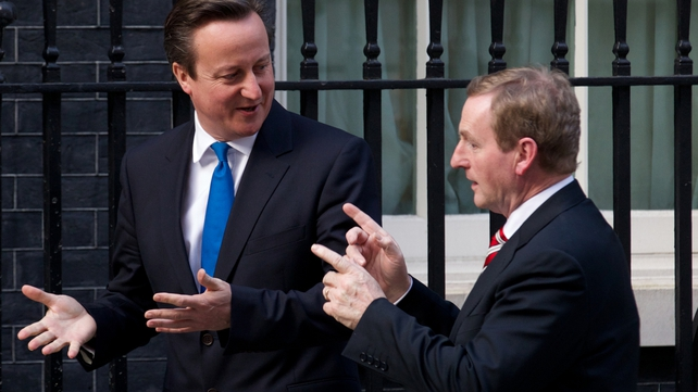 David Cameron and Enda Kenny discussed a range of issues