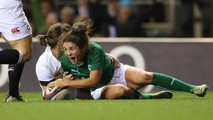 Larissa Muldoon starts at scrum half for Ireland