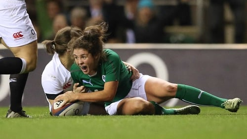 Larissa Muldoon starts at scrum half for Ireland