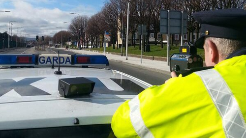The Garda Inspectorate Report addresses a number of issues surrounding penalty points (Pic: @GardaTraffic)