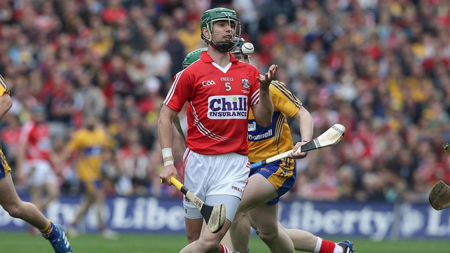 Brian Murphy in action during last year's All-Ireland final against Clare