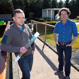 Gareth James Butler and Diarmuid Gavin