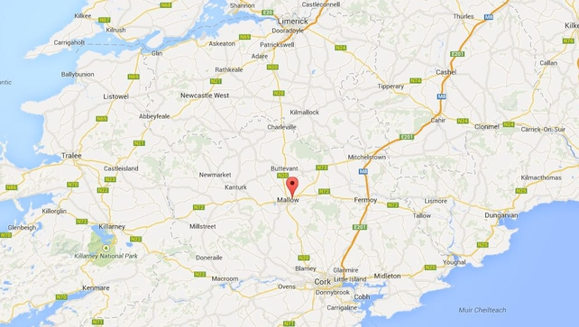 The fire occurred at an apartment building in Mallow, Co Cork (Google Maps)