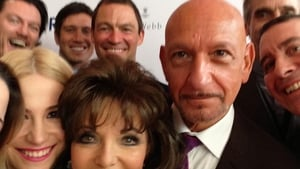 Joan Collins recreated the Oscars selfie at the Prince's Trust last night