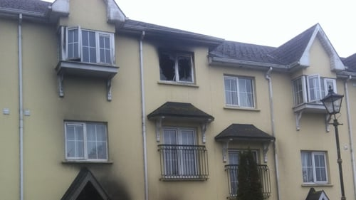 Two men died in the fire at Granary Court apartments on 13 March