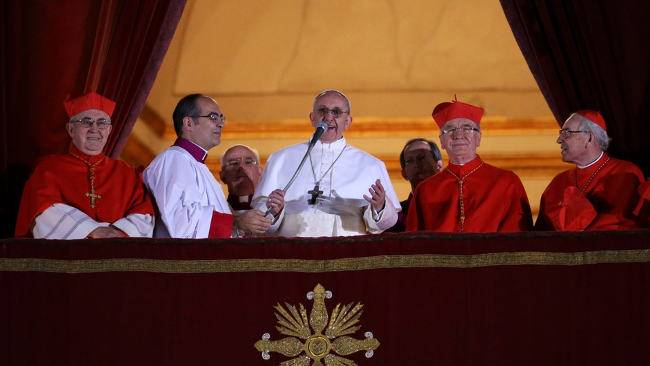 One-time nightclub bouncer and Archbishop of Buenos Aires Jorge Mario Bergoglio took the name Francis when he became Pope