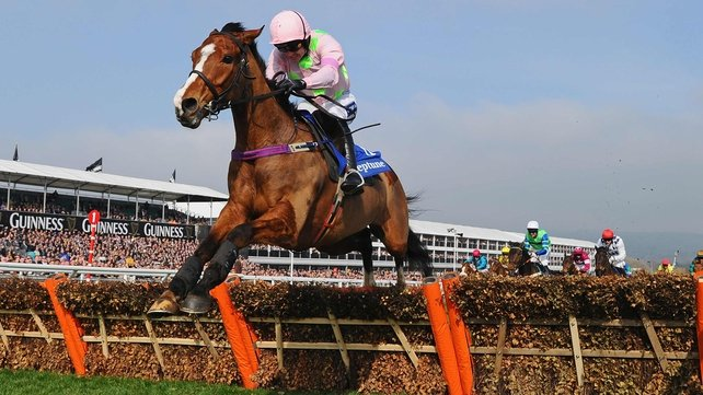 Faugheen was an impressive winner on day two of the festival