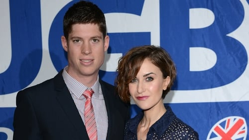 Katherine Kelly and her husband Ryan Clark welcome first child