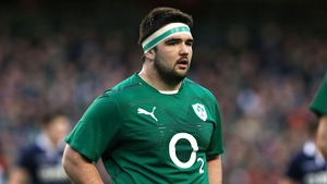 Marty Moore playing for Ireland in 2014