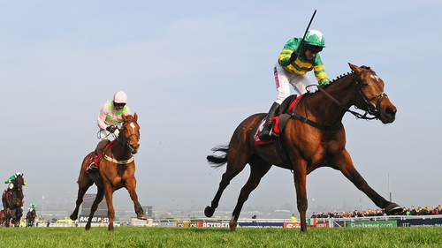 Barry Geraghty is enjoying a superb Festival, riding his third winner of the week on More Of That in the World Hurdle