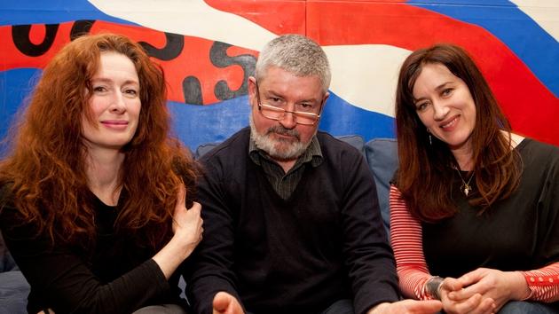 Teiripe cast Caitríona Ní Mhurchú, Denis Conway agus Maria Doyle Kennedy