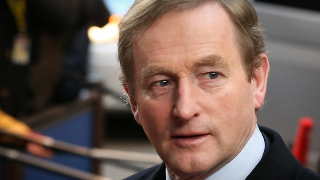 Enda Kenny will meet political representatives from across the UK