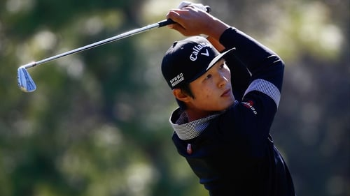 Danny Lee holds a share of the lead at the Tampa Bay Championship