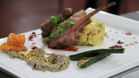 Deconstructed Lamb Tagine - Darina Coffey's key ingredient recipe from Heat 3 of MasterChef 2014