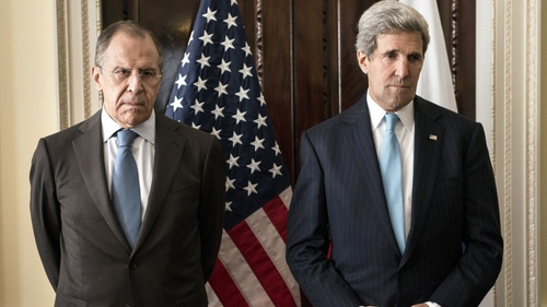 Sergey Lavrov and John Kerry met in London to discuss the crisis