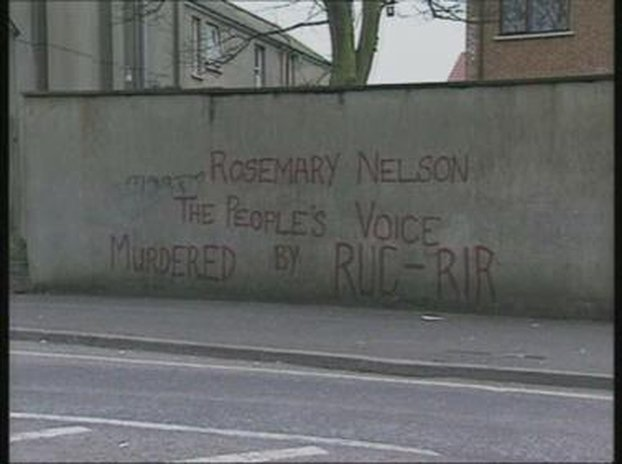 Rosemary Nelson Graffiti
