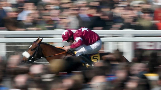 Tiger Roll was imperious in claiming the JCB Triumph Hurdle
