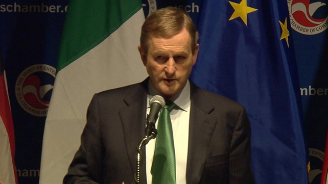 Mr Kenny said he had not yet decided on who Ireland's next commissioner would be