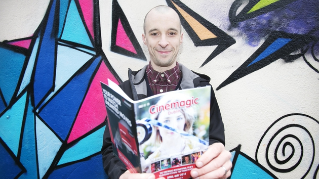Tom Vaughan-Lawlor launches the Cinemagic Film and Television Festival for Young People