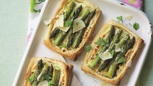 Clodagh's Asparagus & Ricotta Tartlet