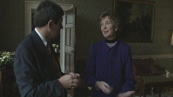 Charlie Bird and Mary Robinson (1994)