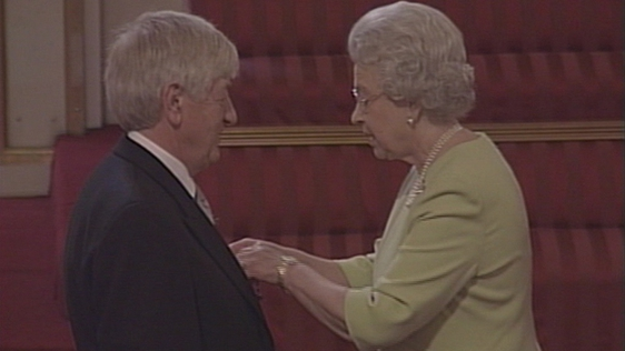 Mike Burns Receives MBE