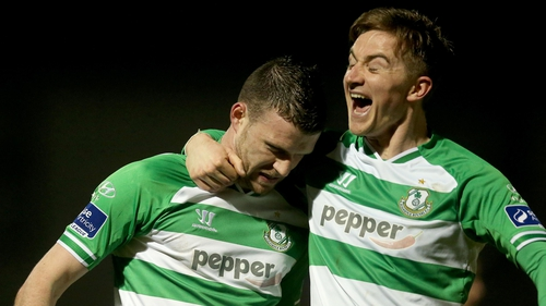 Ronan Finn and Ciaran Kilduff have been in the goals for Rovers this season