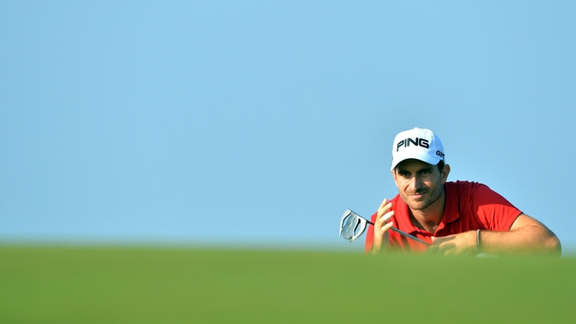 Alejandro Canizares said the lack of wind made for a very different course on Friday
